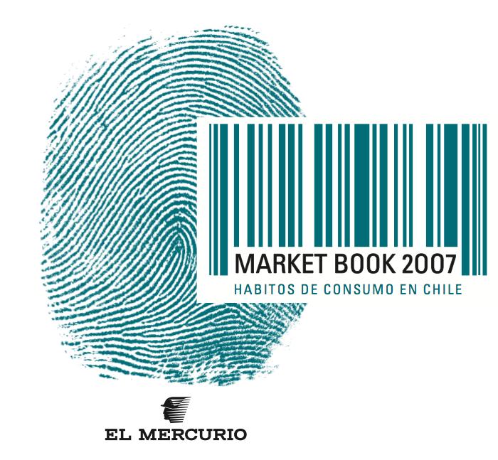 Market Book 2007: Hábitos de consumo en Chile