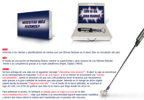 Campaña Marketing Directo – LUN