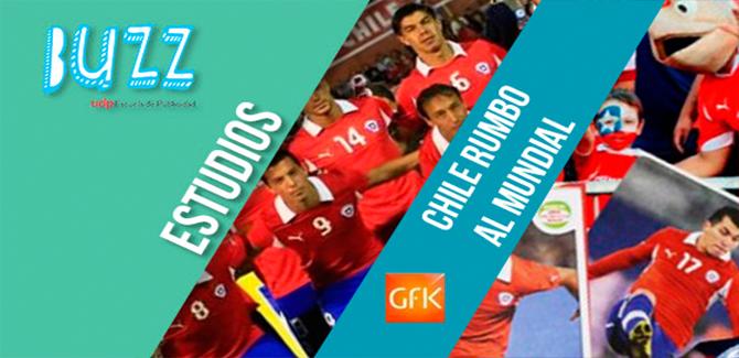 GFK Adimark: Chile rumbo al mundial