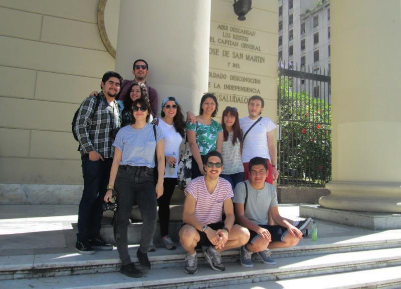 Ganadores Capotop 2014 visitan Buenos Aires