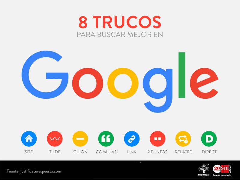 8 trucos para buscar mejor en Google