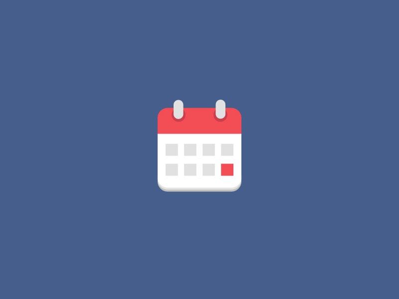 Calendario de exámenes segundo semestre 2016