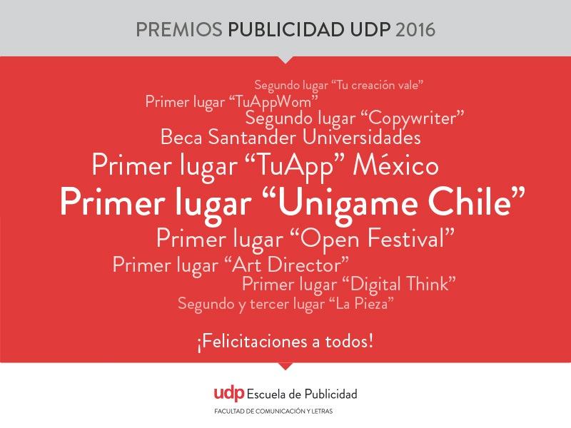 Premios Publicidad UDP 2016