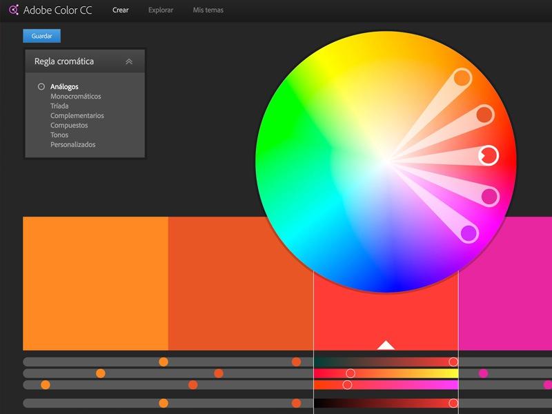 Inspiración en colores: Adobe Color CC