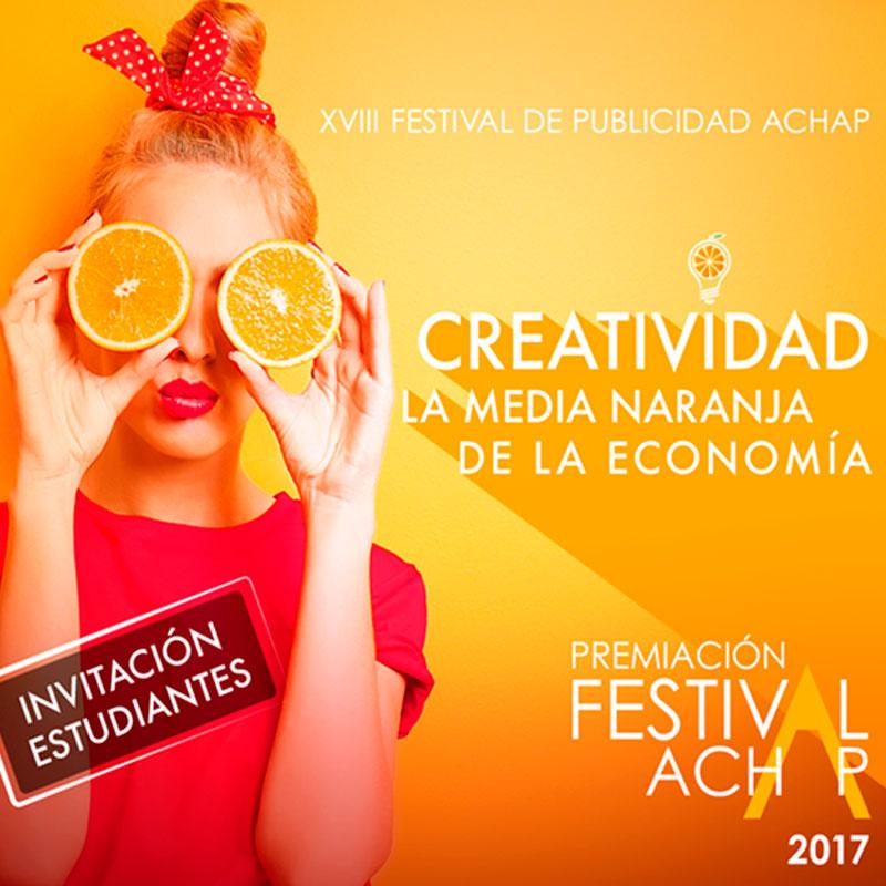 Invitación Festival Achap 2017