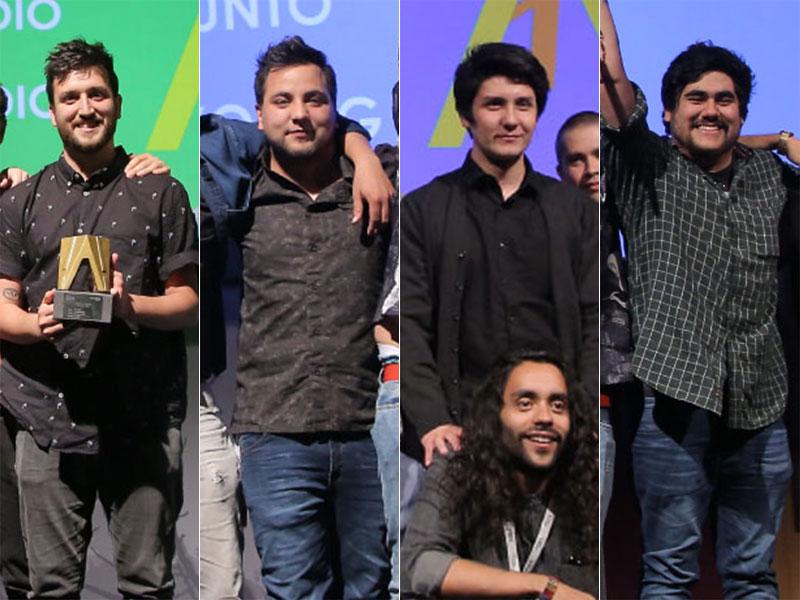 Publicistas UDP presentes en el podio de Achap 2017