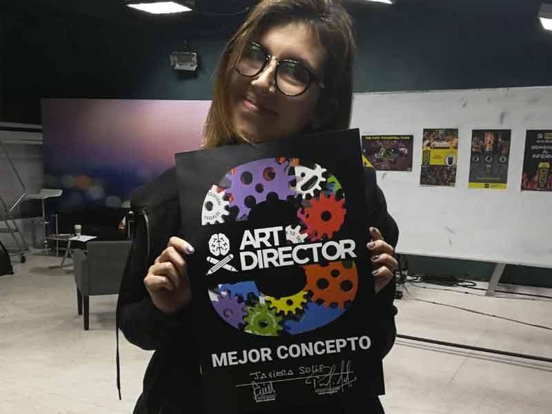 Javiera Solís: Grand Prix y Mejor Concepto en Art Director 2018