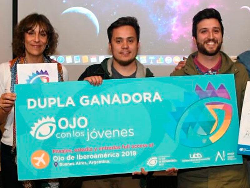 """Egresados de Publicidad UDP en el podio del concurso """"Ojo con los jóvenes"""""""