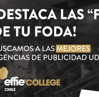 Participa en la versión 2019 de Effie College