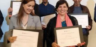 Carol Frost y Gabriel Jefferies premiados por la UDP